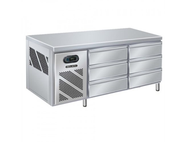 3 Deck Drawer Counter Chiller (BS6DR/C6/3)