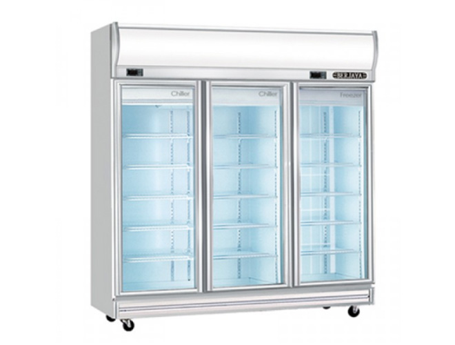 Dual Display Chiller & Freezer (3D/D2C1F-SM)