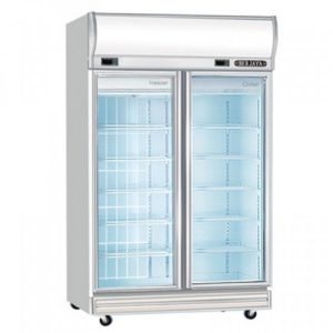 Dual Display Chiller & Freezer