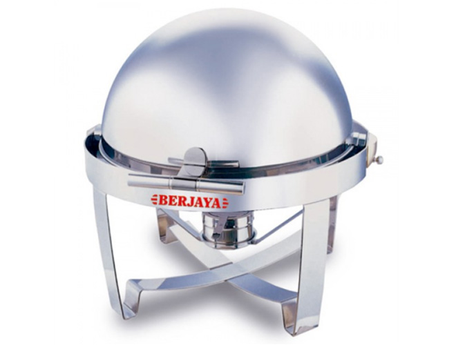 Round Chafing Dish With Show Full Top Cover (BJY-RTCD-R)
