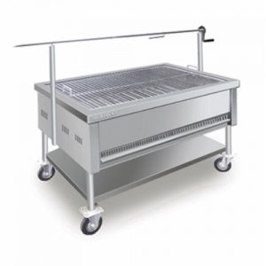 Stainless Steel Charcoal Lamb Roaster
