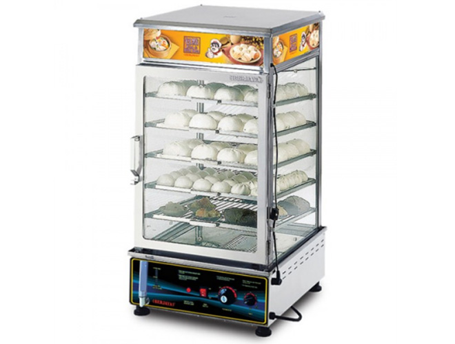Stainless Steel Electrical Pao Steamer (ESM55)
