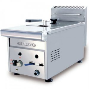 Stainless Steel Gas Deep Fryer