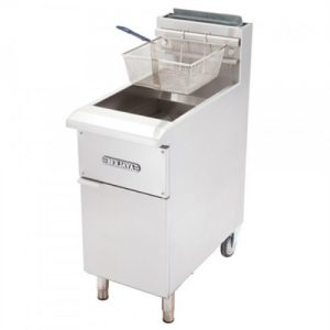 Stainless Steel Gas Deep Fryer Economic