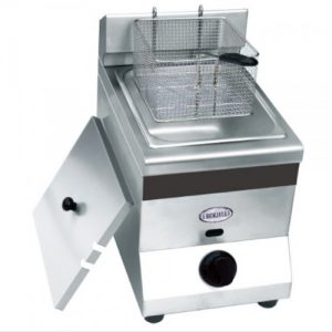Stainless Steel Gas Deep Fryer Single / Double