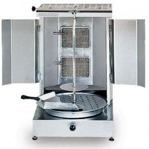 Stainless Steel Gas Kebab Machine
