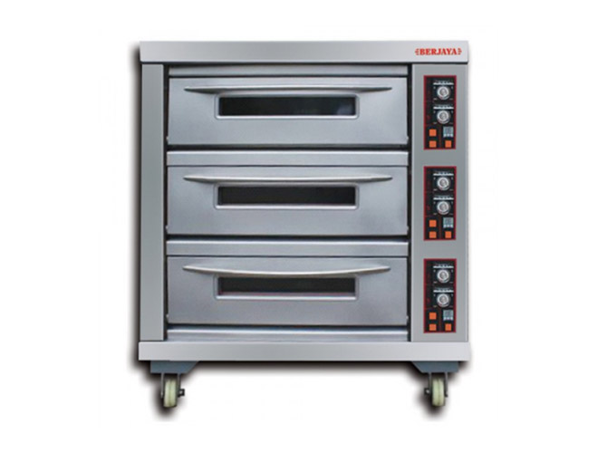 Infra Red Electrical Baking Oven – 3 Deck (BJY-E20KW-3BD)