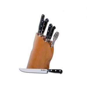 """""""Onda"""" 8 pcs. Knives Block"""
